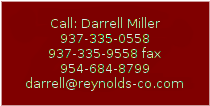 Text Box: Call: Darrell Miller